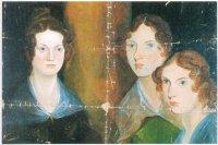 Портрет сестер Анны, Эмили и Шарлотты Бронте написан их братом Брануэллом. Размытая фигура в центре картины — его автопортрет, который он позднее затер.
