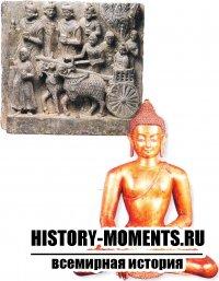 Будучи юным принцем, Будда путешествовал и проповедовал свое учение. С распространением буддизма появились непальские версии изображения Будды (справа).