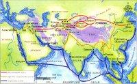 Великий Шелковый путь был проложен китайскими купцами во II в. до н.э. и оставался важнейшим маршрутом между Европой и Дальним Востоком до эпохи Возрождения.