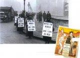 Суфражистки пикетируют парламент в Лондоне в 1928 г. В своей пропаганде (справа) они подчеркивали, что в области избирательных прав женщин приравняли к преступникам и сумасшедшим.