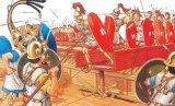 Римляне оснастили свои корабли мостиками с острыми крюками. С их помощью они брали на абордаж вражеские суда.
