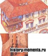 Семьи победнее жили в маленьких комнатках под самой крышей.