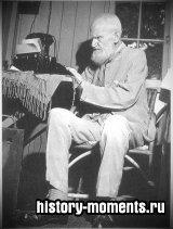 Бернард Шоу, и в 90 лет оставаясь бодрым, сам печатал свои сочинения на машинке в деревянном коттедже, который называл своим «логовом»