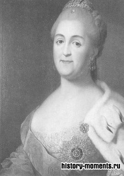 Екатерина II стала императрицей России, свергнув с трона своего мужа