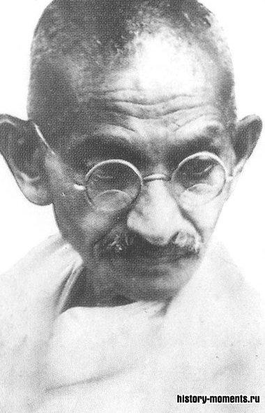 Мохандас Ганди — борец за независимость Индии.
