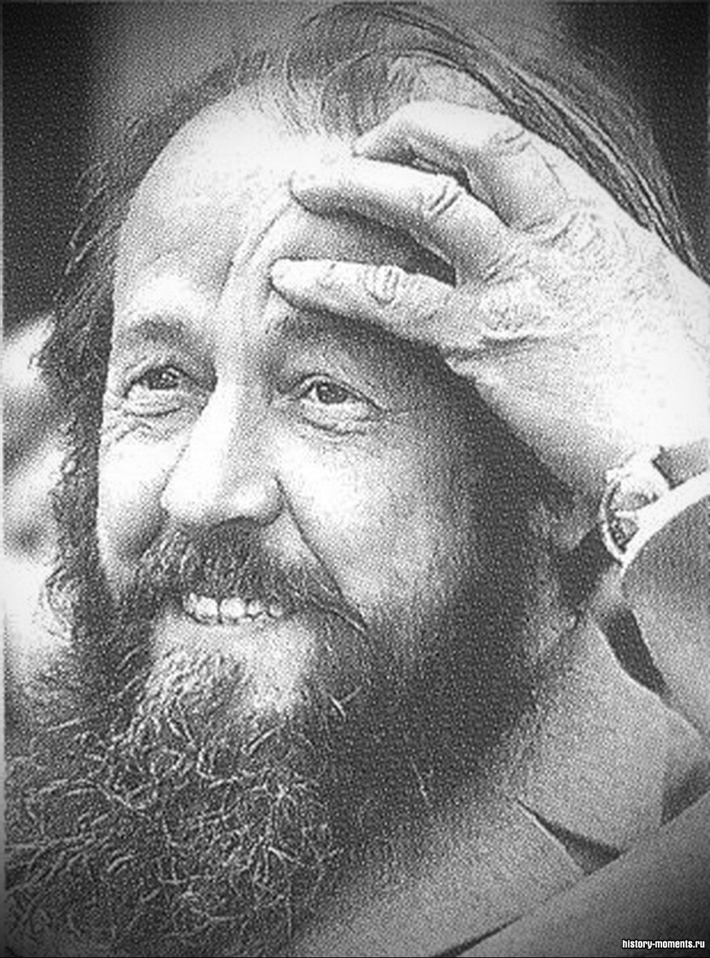 Русский писатель А.И. Солженицын.