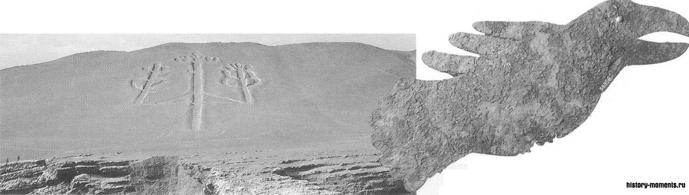 Медная птица с жемчужным глазом — культура Хоупвелл, ок. 100 до н.э.