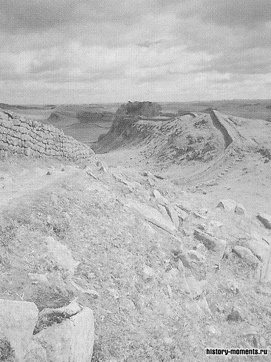 Адрианов вал был северной границей Римской империи.