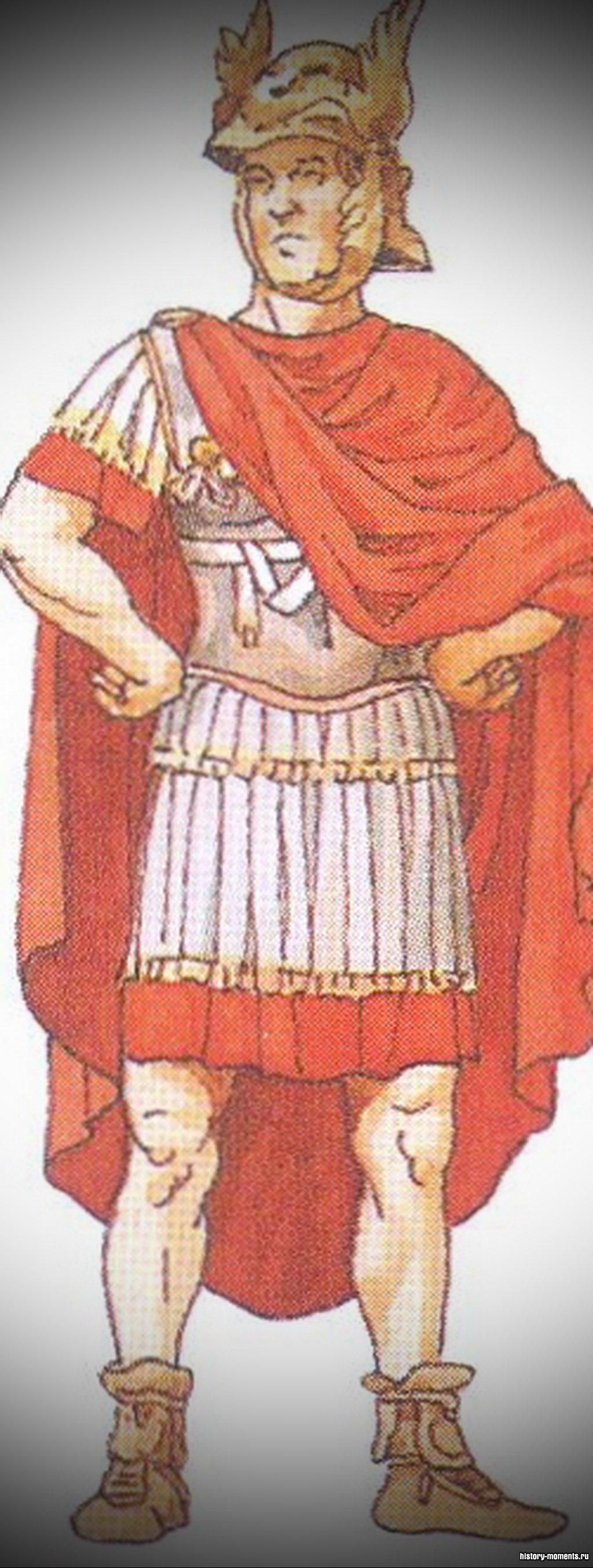 Легат - командующий легионом.