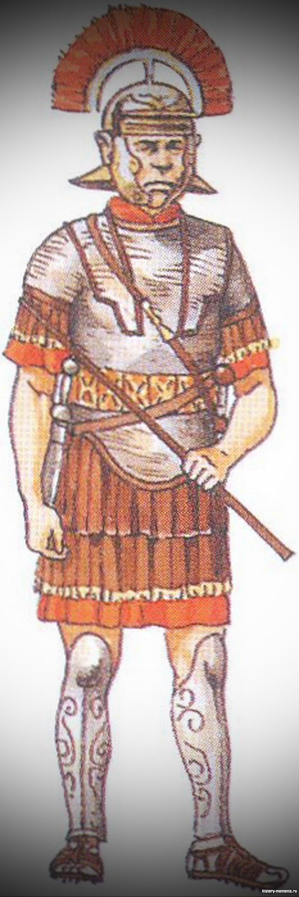 Центурион - командующий центурией.