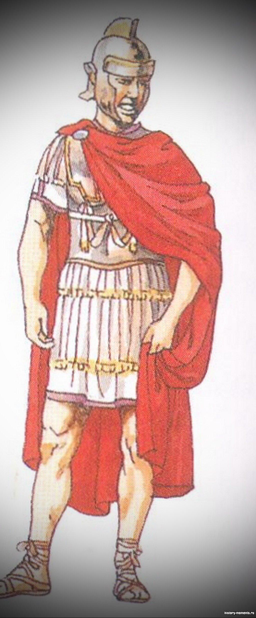 Трибун - начальник легиона, помощник легата. В каждом легионе их было 6.