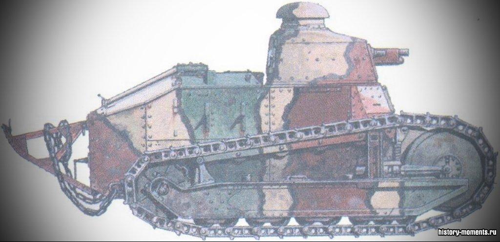 Впервые танки были применены британской армией в битве на Сомме в сентябре 1916 г.
