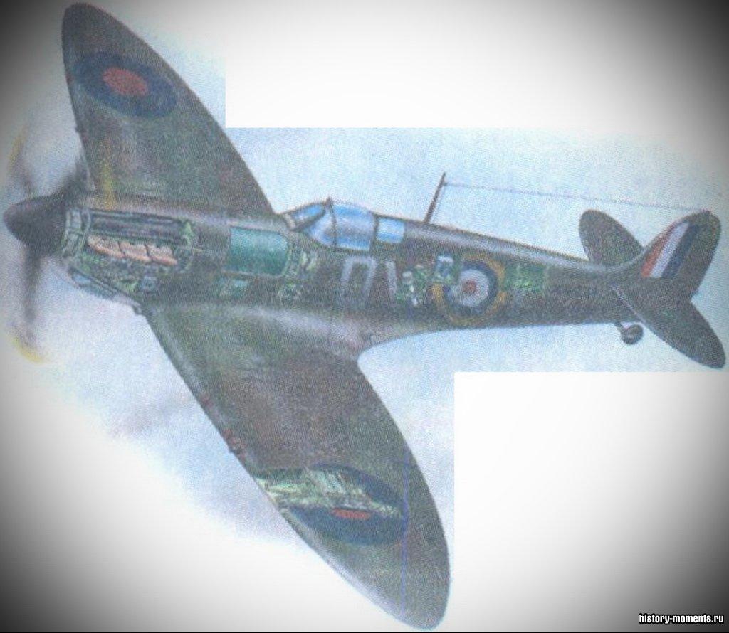Британские самолеты «Спит-файер» защищали свою страну в 1940-1941 гг.