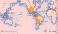 Испанская колониальная империя быстро росла в XVI в. за счет Мексики, Южной Америки и Филиппин. Рост империи продолжался до конца XVIII в.