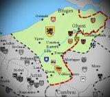 Что представляла собой средневековая Фландрия как графство