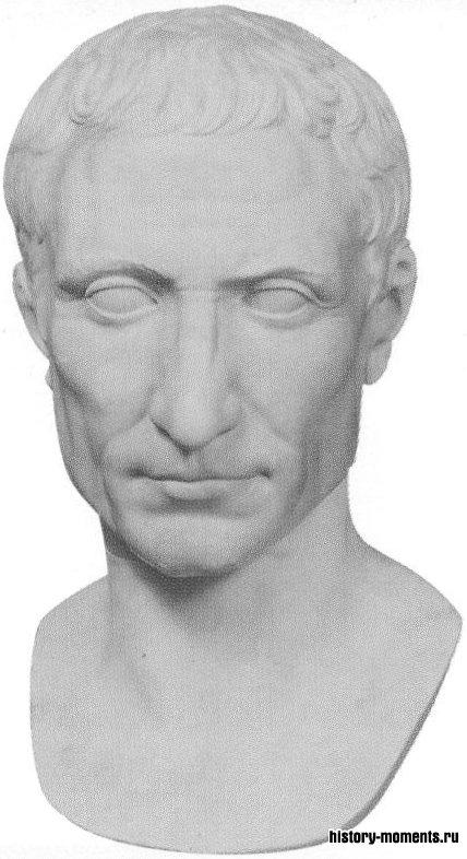 Юлий Цезарь, раздвинув границы Римской республики,заложил основы великой империи, но был убит в 44 г. до н.э.