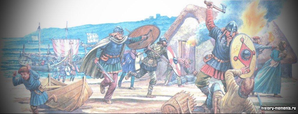 Викинги пришли в Западную Европу из Скандинавии в поисках добычи.