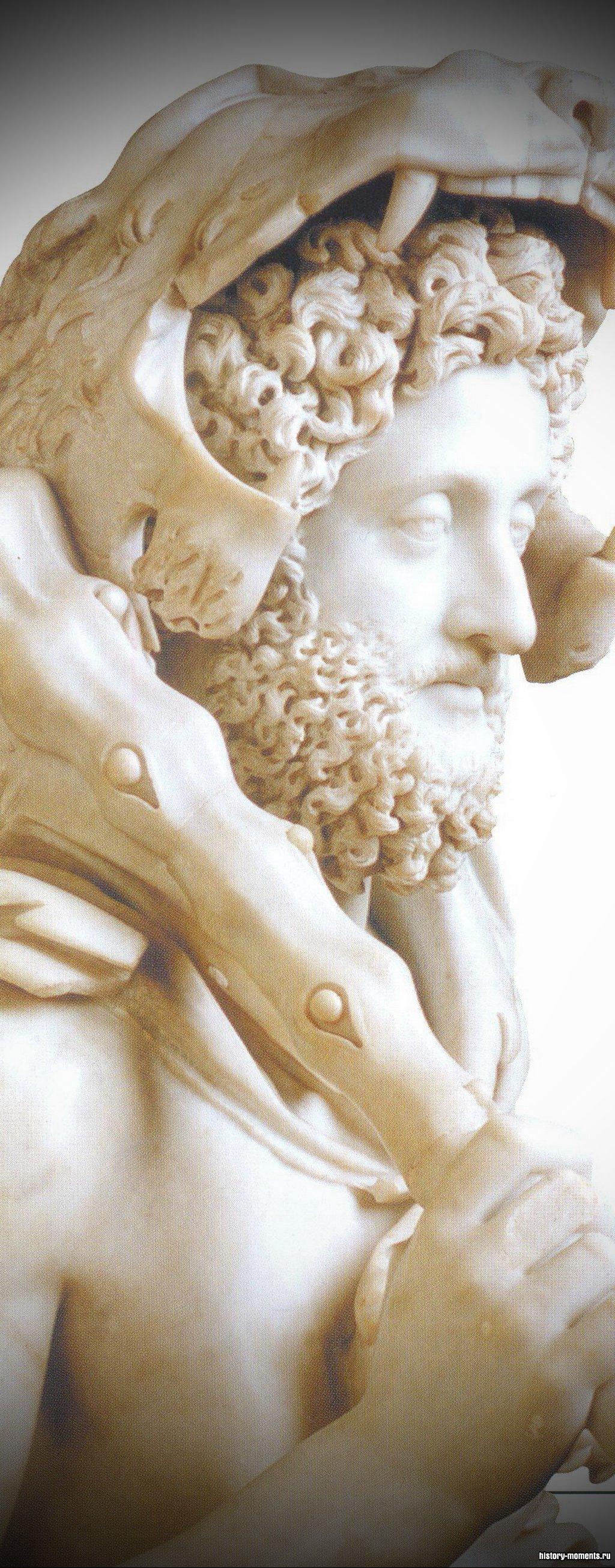 Император Коммод любил сражаться на арене. Здесь он изображен в наряде мифического воина Геракла.
