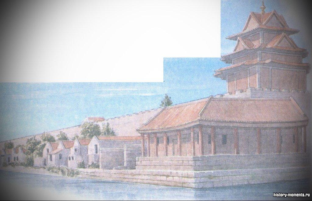 В Пекине после окончательного ухода монголов в конце XIV в. для китайских императоров был построен Запретный город.