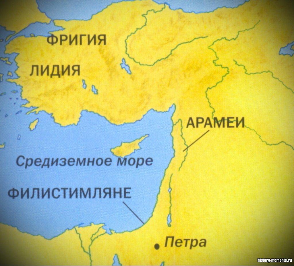 Народы, населявшие Ближний Восток, в описанную здесь эпоху.