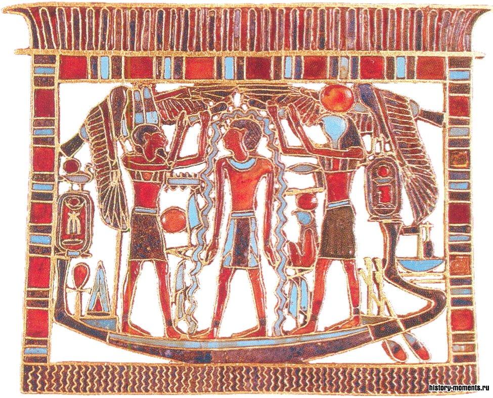Правители Нового царства часть богатств тратили на изысканные украшения, например такие, как эта нагрудная пектораль.