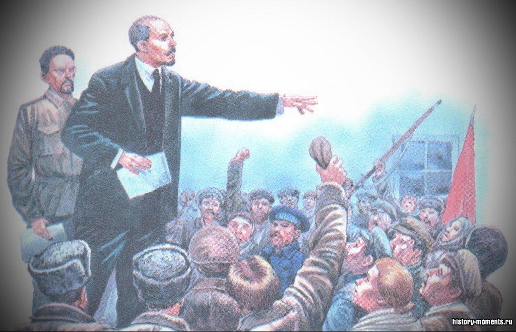 Владимир Ульянов (Ленин) стоял во главе Октябрьской революции 1917 г.
