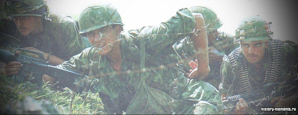 Около 10 лет войска США воевали против Северного Вьетнама.